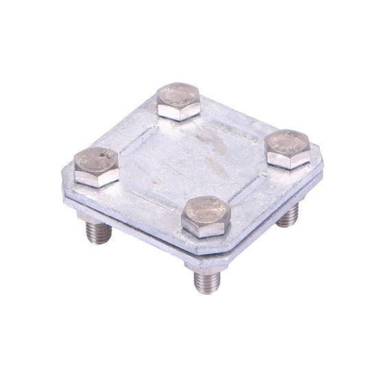 Ligador aço galv. Cond plano/plano ProtecFoudre